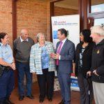 Greg Warren with local elders