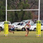 The Oaks Tigers held on in a remarkable match yesterday to defeat the Roosters 36-32.
