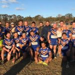 Campbelltown City Kangaroos could smile after their win over Thirlmere on the weekend.