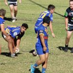 Kangaroos attack the Picton tryline on Sunday when they suffered their fourth loss of the season, going down 30-10