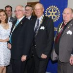 Bill Salter back at the helm of Ingleburn Rotary Club.