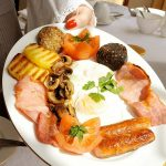 Irish breakfast on St Patrick's Day