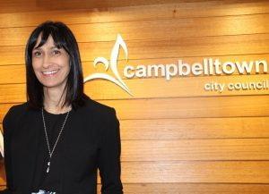 Lindy Deitz, the general manager at Campbelltown City Council.