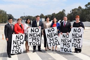 Petition against M5 toll extension