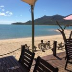 Hideaway Bay at Montes Restaurant on the beach.