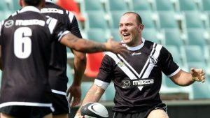 John Skandalis, a Campbelltown junior who made his first grade debut for the Magpies and then played for the joint venture side, winning a premiership with Wests Tigers in 2005.