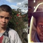 The two missing boys who have now been found by police five days after they went into hiding.