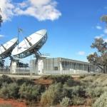 NBN's satellite ground station in Bourke.
