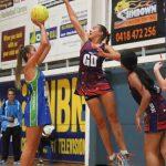 South West Sydney Academy of Sport netballer Amy Sligar