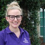 Second year graduate midwife, Hannah Murray