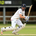 Ollie Pope scored his maiden hundred for the Ghosts