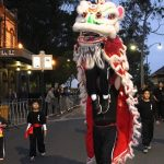 Fisher's Ghost Festival parade last year was held at twilight for the first time as part of a bid to boost the local night time economy.