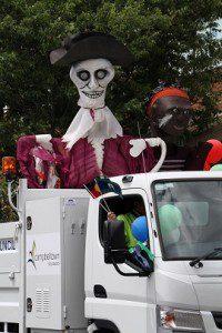 Last year's street parade.