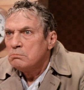 Aussie actor Peter Finch in Network