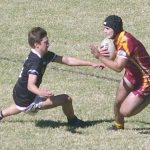 Picton Magpies and the Thirlmere Roosters on Sunday at Victoria Park. Magpies won 36-16