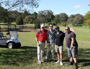 The Dale, Daniel, Brendan and Eric team