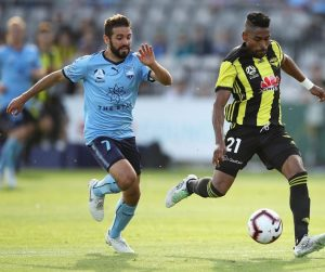 Sydney FC and Wellington Phoenix