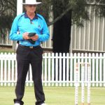 umpire John Evans will officiate in his 400th Sydney grade match this Saturday at Raby.