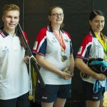 Lachlan McLean, Samira Cox and Jaide Weiling