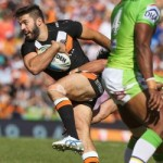 James Tedesco was again brilliant in patches but Wests Tigers allowed Canberra to steal the round 7 NRL match 30-22