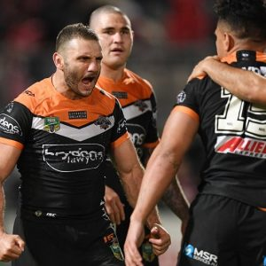 Benji and Robbie show now Reynolds has gone for the season