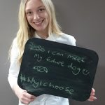 Youth Advisory Group Member Jessica Brown shares her #whyichoose message.