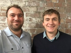 Micro Morse founders Michael De Nil (left) and Andrew Terry.
